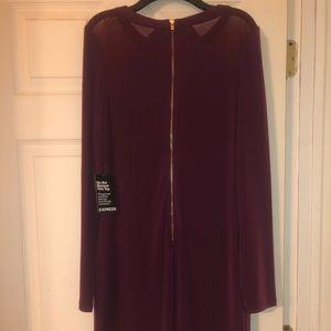 Express Dresses - NWT Burgundy Express dress size medium.